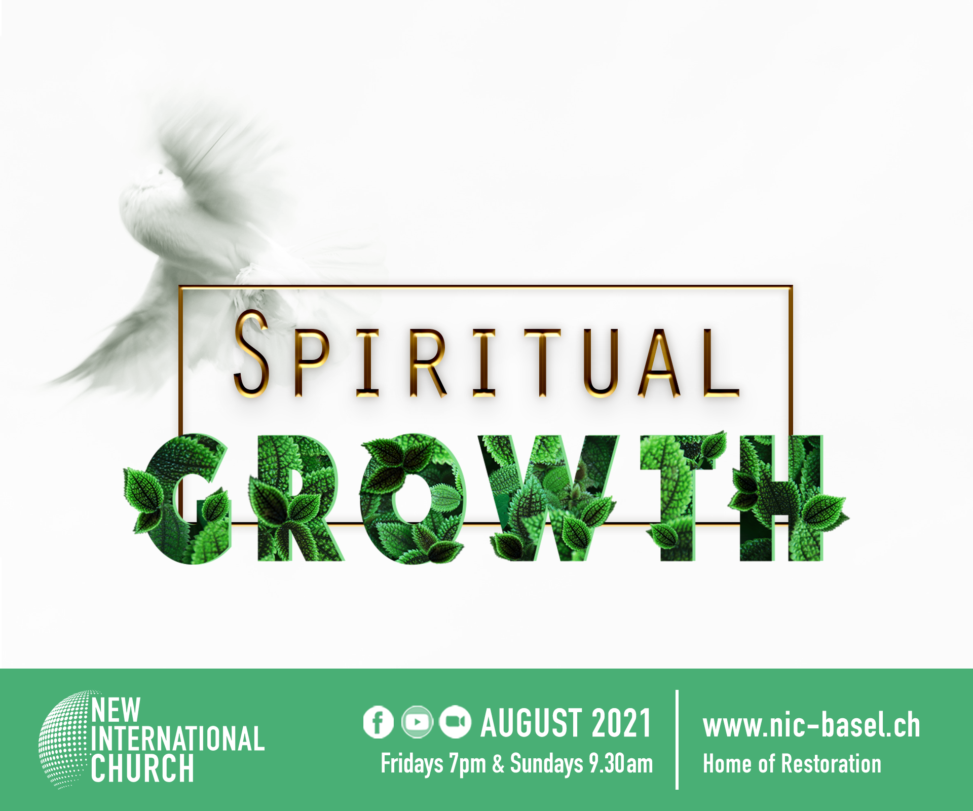 Spritual Growth_August 21