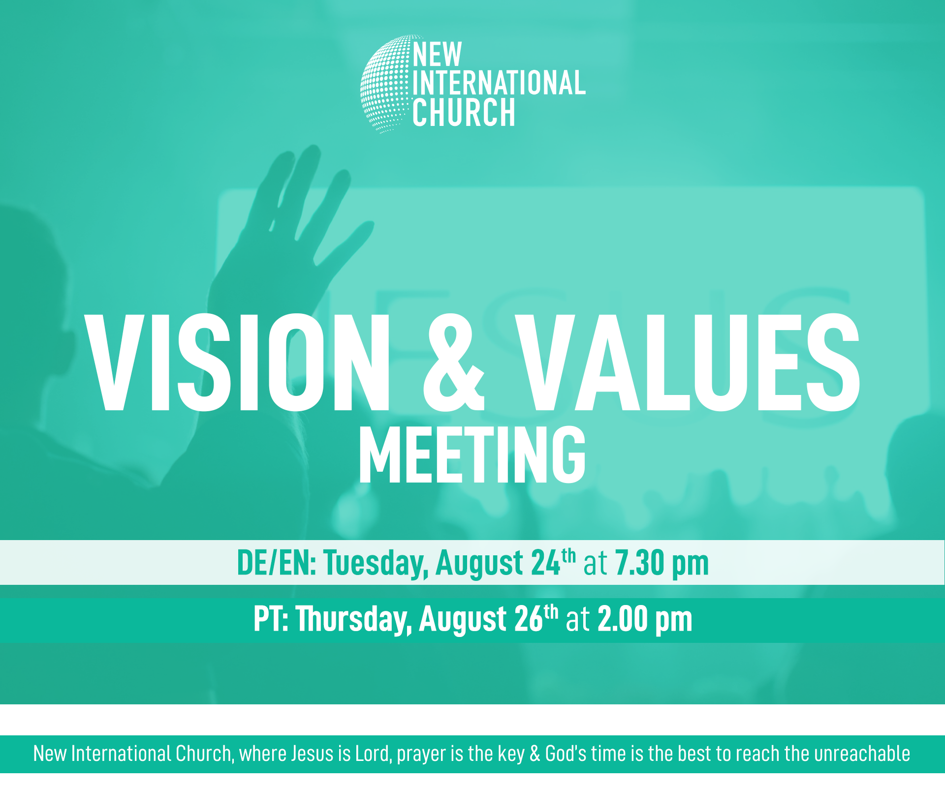 Vision & Values Meeting